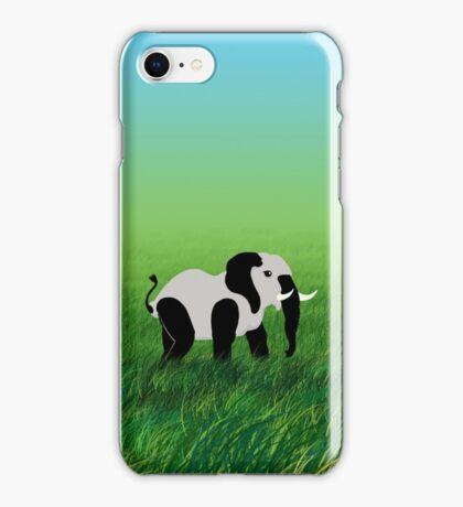 Panda-Phant in the Prairie VRS2 iPhone Case/Skin