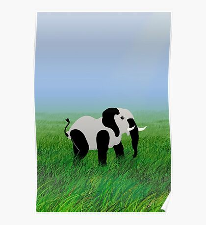Panda-Phant in the Prairie VRS2 Poster