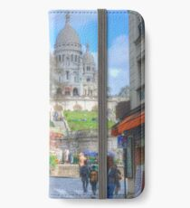 Sacre Couer .. Street View iPhone Wallet/Case/Skin