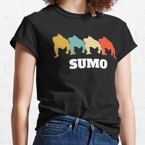 Sumo Sumos Wrestler Wrestling Retro Vintage Classic T-Shirt