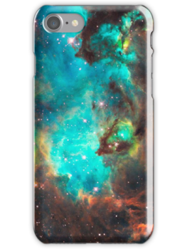 Quot Green Galaxy Quot Iphone Cases Amp Skins By Rapplatt Redbubble