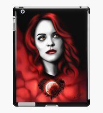 Erica BlackHeart iPad Case/Skin
