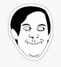 Tobey Maguire Face meme Sticker