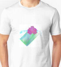Purple Pink Gardenia Flower Unisex T-Shirt
