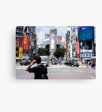Tokyo Shibuya 109 Building Canvas Print