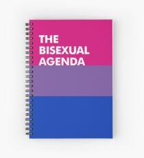 Bi Agenda Spiral Notebook