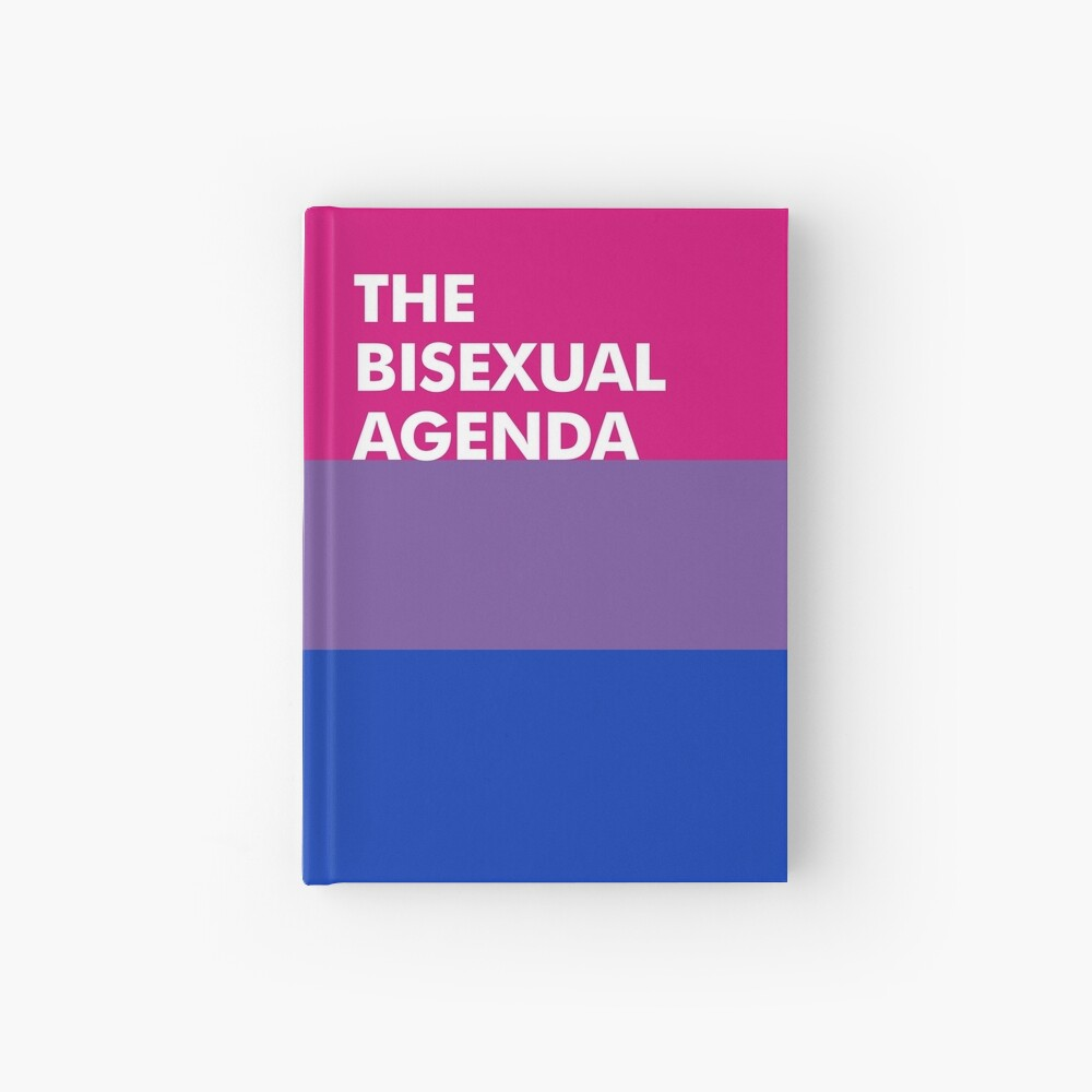 Bi Agenda Hardcover Journal
