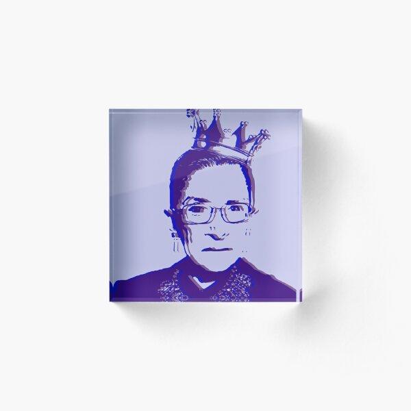 Violet RBG Acrylic Block