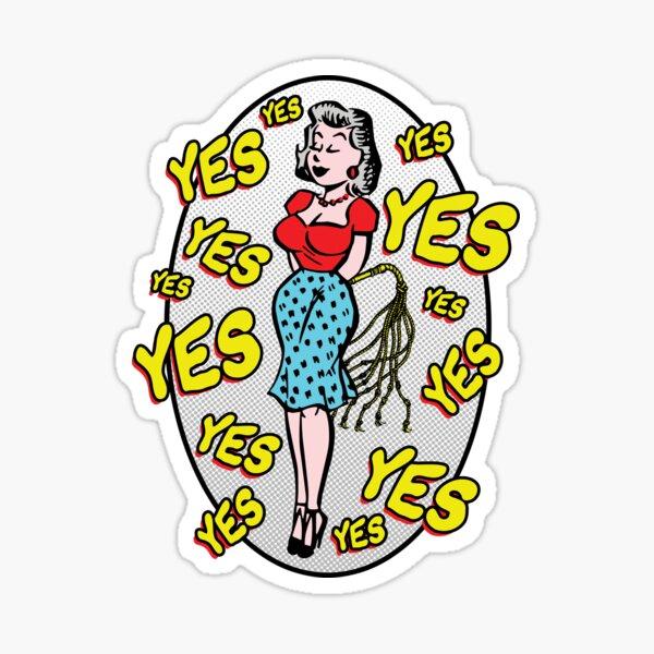 Whip Wife DBSM Dominatrix Sticker