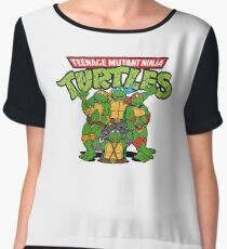 Teenage Mutant Ninja Turtles Chiffon Top
