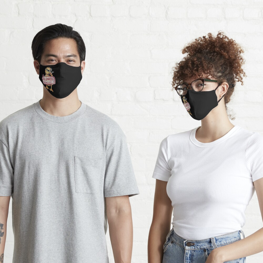COVID-19 Vaccine Duckleeng  Mask
