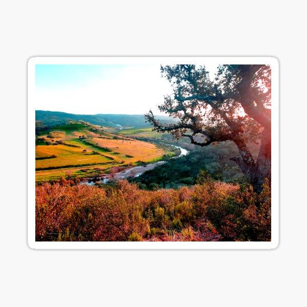 Hills of Portugal Sticker