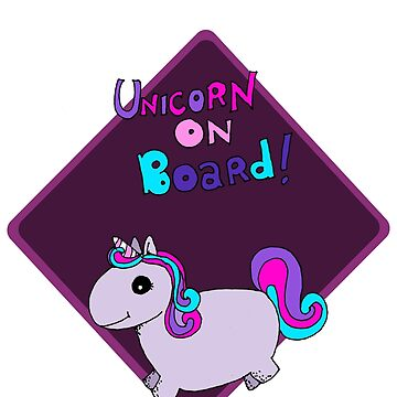 Unicorn on board ! by LucyNuzit