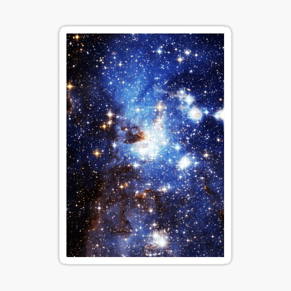 Blue Galaxy 3.0 Sticker