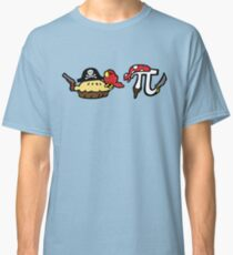 Pie and Pi Pirates Classic T-Shirt