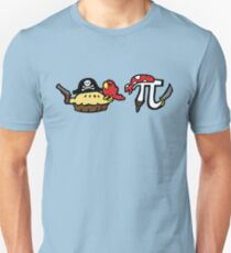 Pie and Pi Pirates Unisex T-Shirt