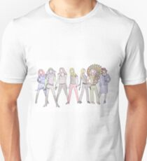 Strong Women Characters Unisex T-Shirt