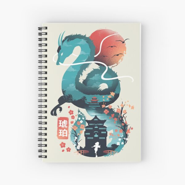 Disappearance Spiral Notebook