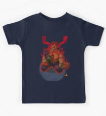 Evil Ryu Red Eyes Kids Clothes