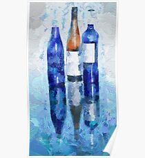 Wine Reflection Poster
