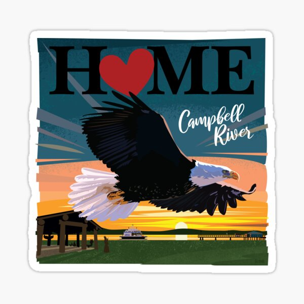 I love Campbell River Sticker