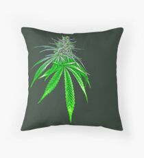 Dope Bud Throw Pillow