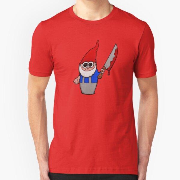 Gnomicidal Maniac Slim Fit T-Shirt