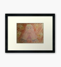 Aura from the Dot Hack franchise Framed Print