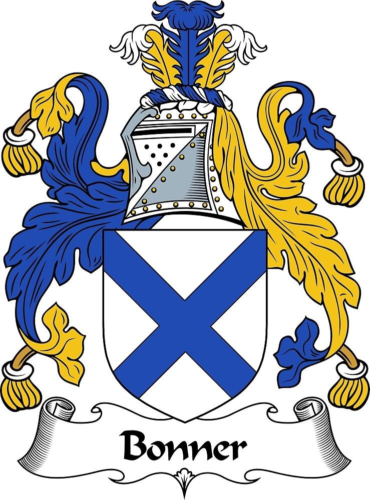 Quot Bonner Coat Of Arms Bonner Family Crest Quot By