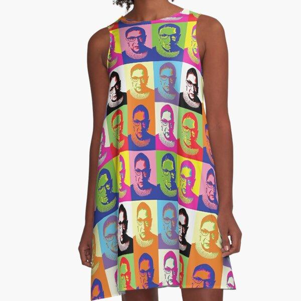 ruth bader ginsburg A-Line Dress