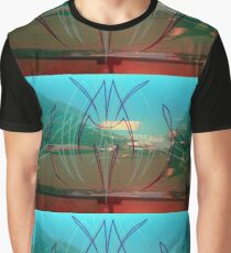 Enchanced Automotive Pinstripes Graphic T-Shirt