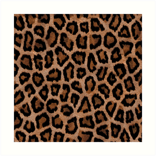 Brown Animal Print by limitlezz
