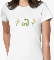 Snake in the Grass Women's Fitted T-Shirt