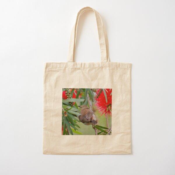 SC ~ HONEYEATER ~ Scarlet Honeyeater 4mLqypBS by David Irwin 230321 Cotton Tote Bag