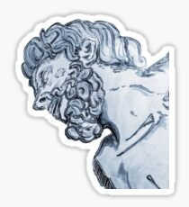 Greek God Sticker