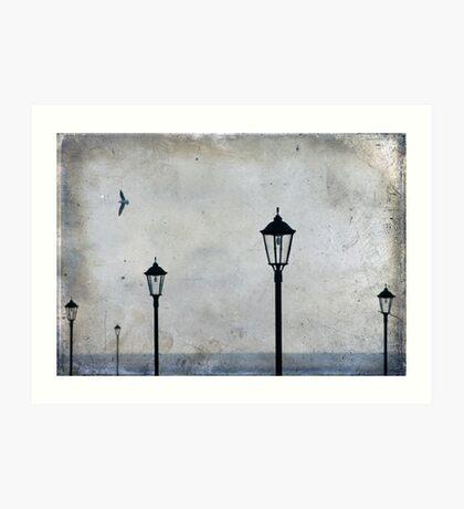 Lampscape Art Print