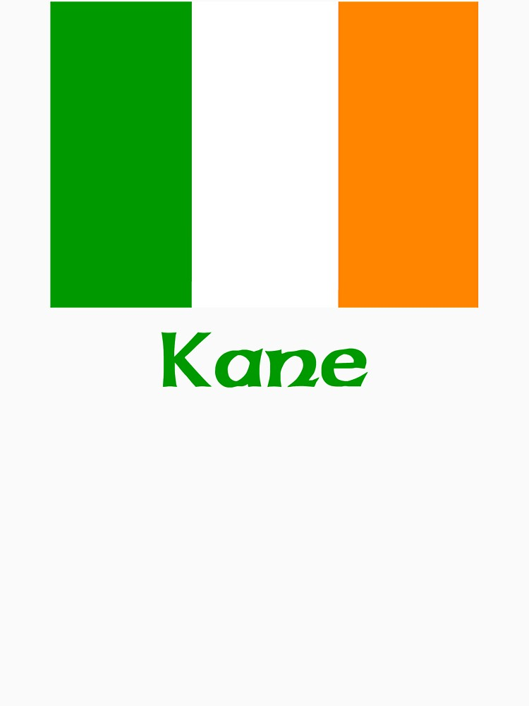 Kane Irish Flag by IrishArms