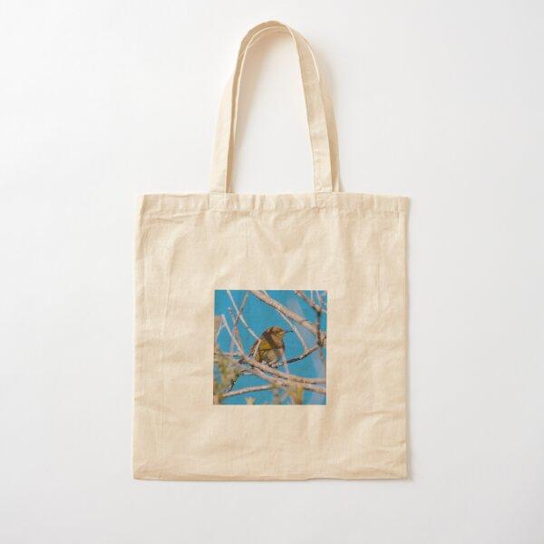 SC ~ HONEYEATER ~ Brown Honeyeater AXEAcTEZ by David Irwin 230321 Cotton Tote Bag