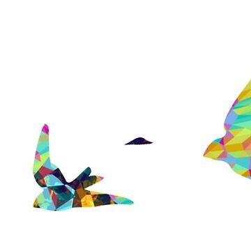 Polygon Birds by tanluccas