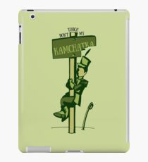 Don't Touch My Kamchatka iPad Case/Skin
