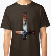Red Galaxy Inverted Cross Classic T-Shirt