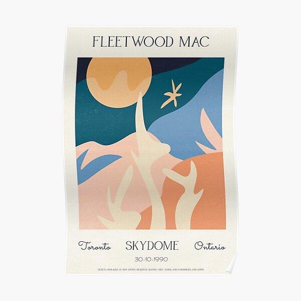 Fleetwood Gig Poster - Music Minimalist Poster