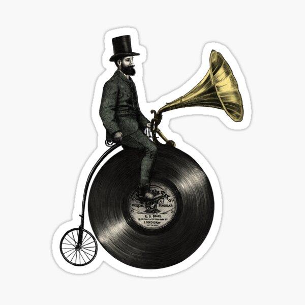 Music Man (green colour option) Sticker