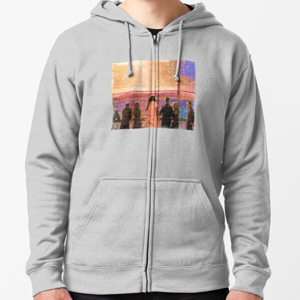 Enemy at the gate  Zipped Hoodie