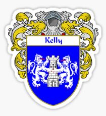 Kelly Coat of Arms/Family Crest Sticker