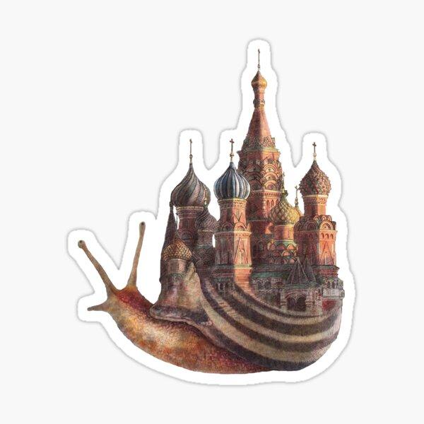 The Snail's Daydream Sticker
