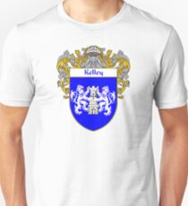 Kelley Coat of Arms/Family Crest Unisex T-Shirt