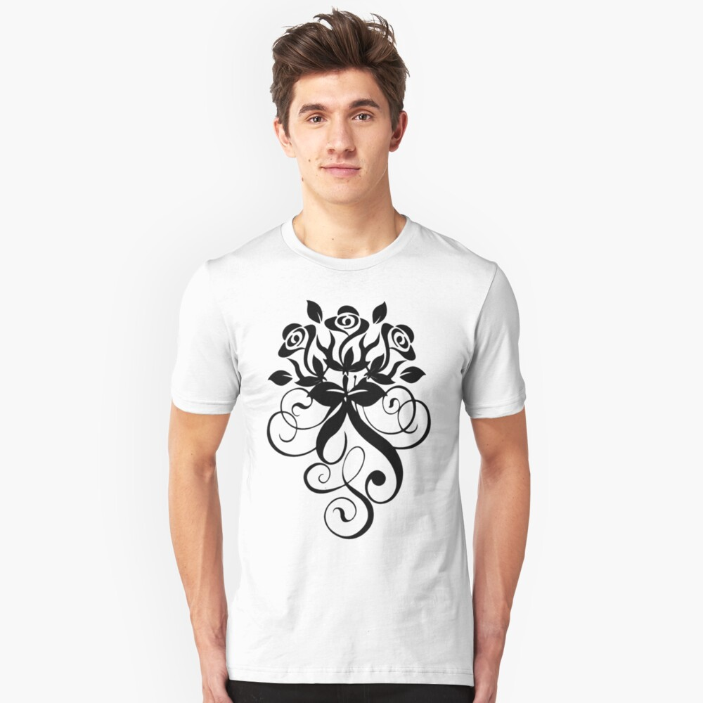 Rose's Only. Slim Fit T-Shirt