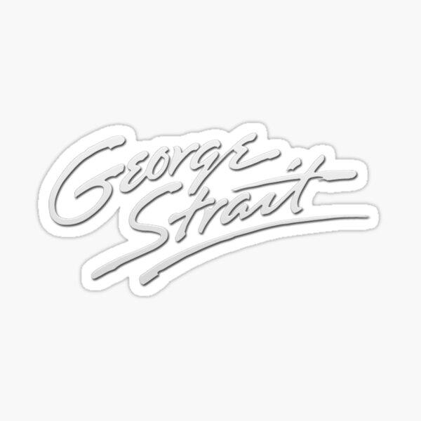 George Strait Sticker