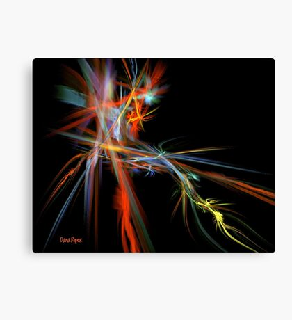 Fractal Energy Canvas Print